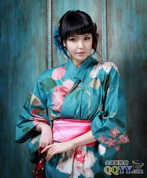 日本性感和服少妇写真