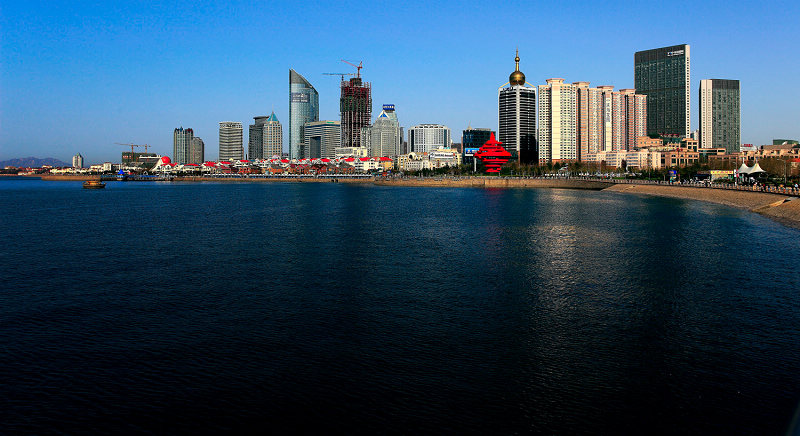 青岛海岸线