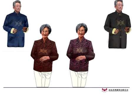 """推荐理由: 男装:采用优质织锦缎面料,""""中国龙""""印花栩栩如生,使唐装更"""