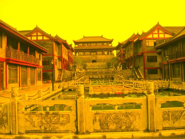 《青州宋城安定门》