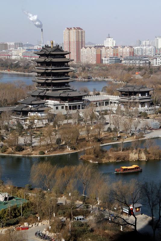 俯瞰大明湖1