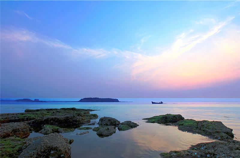 海边的黄昏