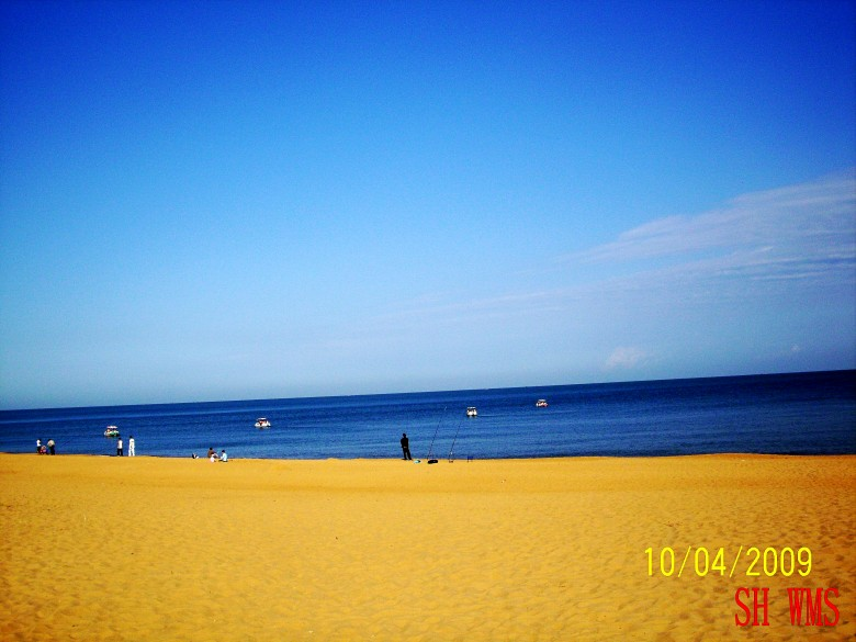 宁静的大海