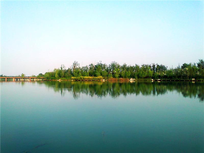 潍坊,鸢都湖