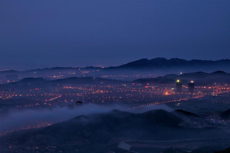 摄于青岛崂山区午山.