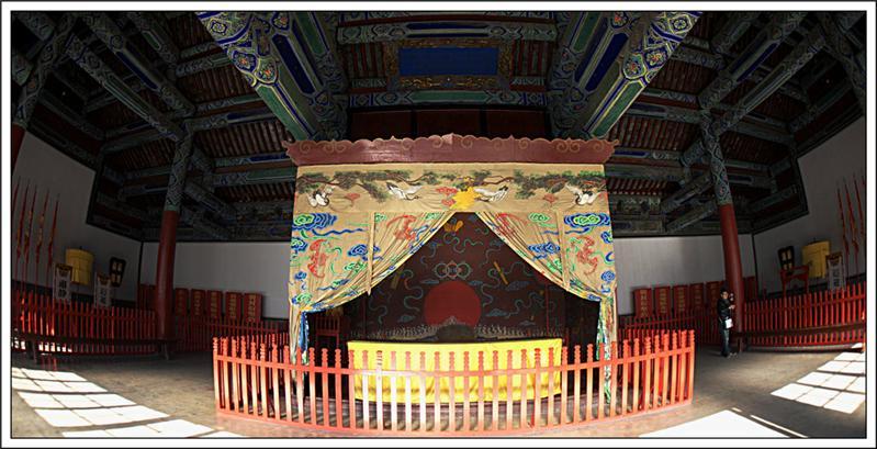 孔府斗拱结构示意图