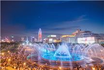 泉城夜广场