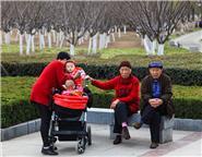 爷爷奶奶和孙子