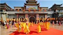 济南方特开业2周年庆典开城门演出 (7)