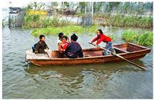 微山湖上的船上小学(组照)