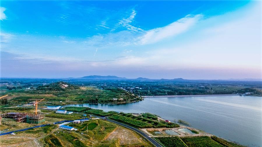 邹城莫亭水库风景区