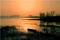 青云湖晚霞