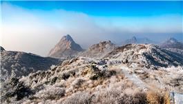 昆嵛山雾凇