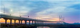 黎明前的长会口大桥