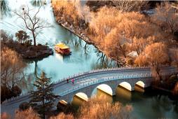美丽鹊华桥