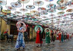 浪漫的油纸伞