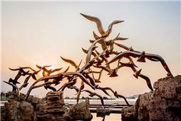 雕塑—飞舞