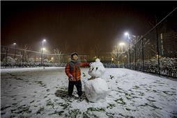 我和我的雪人