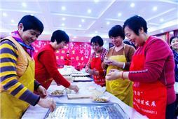 《过年饺子团圆饭》