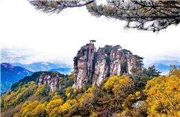 蒙山鹰窝峰