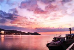 威海老港之晨