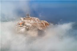 雪后天蒙山