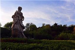孝妇颜文姜雕像