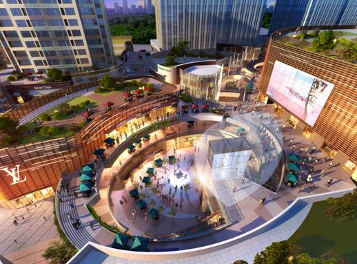 和达·中心城 新都心首个城市综合体引岛城投资者关注