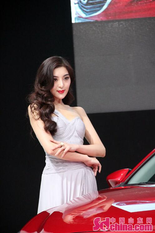 范冰冰 马里奥 盘点青岛国际车展中的明星脸