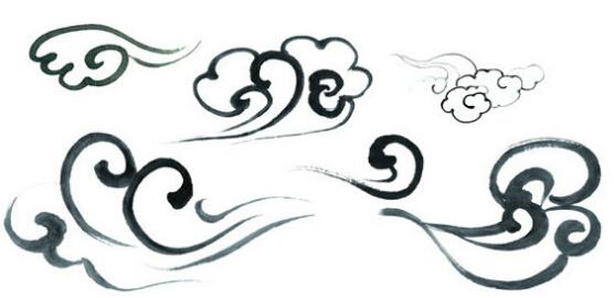 细数传统云纹的种类有云雷纹,云气纹,卷云纹,云朵纹,流云纹等,每一种