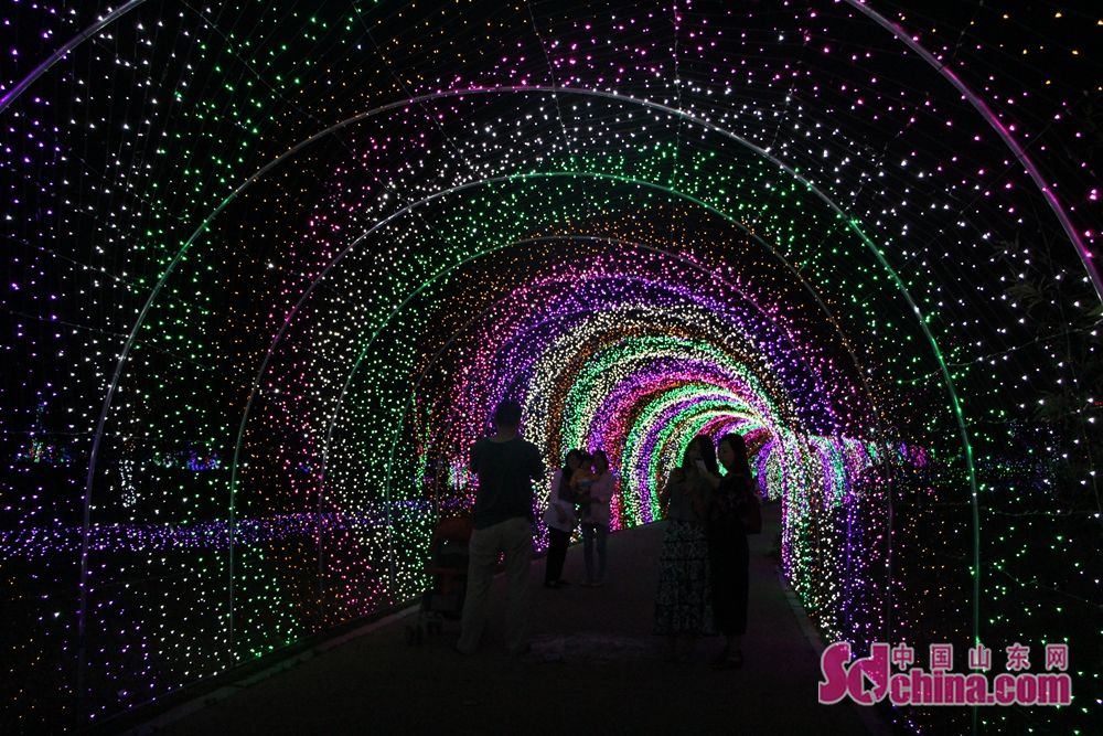 人们置身其中犹如梦开始的地方,穿越隧道闯进奇幻的迷雾森林,梦幻旅程