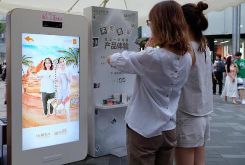 富士胶片-趣奇俏手机照片打印机SP-2炫酷登场