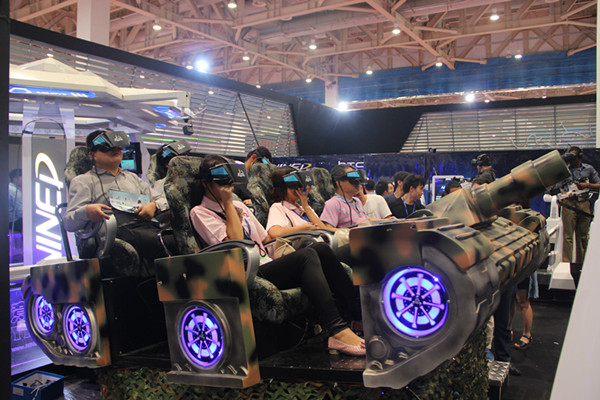 中日韩产业博览会开幕 市民免费体验VR科技