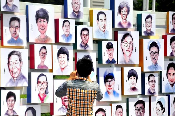 市民的节日 镜头下城阳市民节张张鲜活面孔