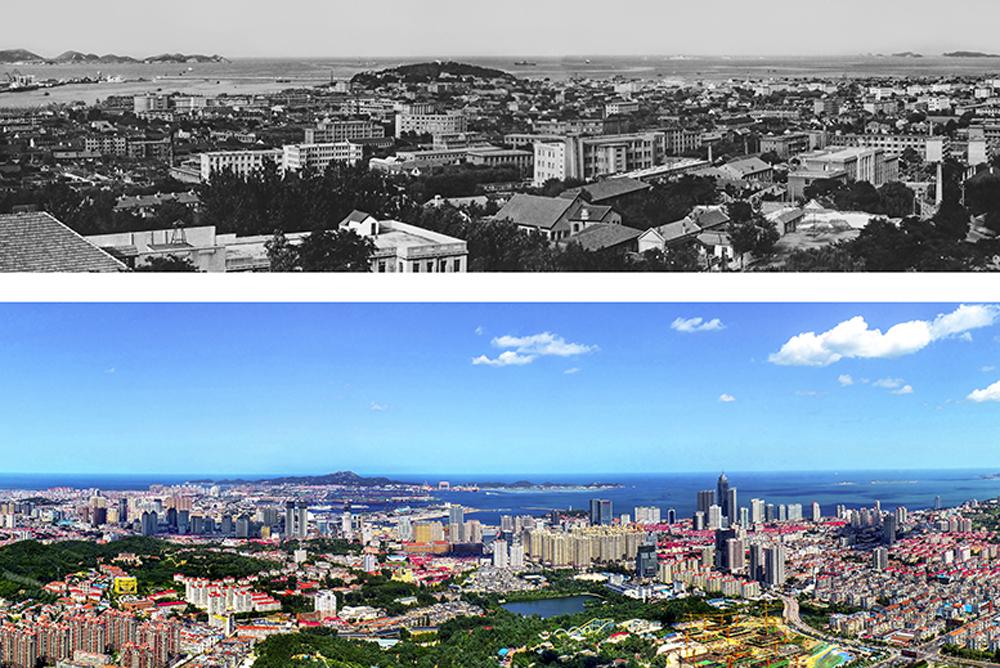 1984年5月,中央和国务院正式决定开放烟台等14个沿海港口城市,烟台成为全国首批沿海对外开放城市。(潘春茂、李刚)<br/>