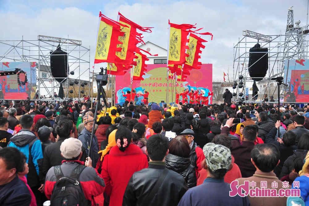 3月17日午前、田横祭海節は田横島省級観光スポット周戈村で開催された。<br/>