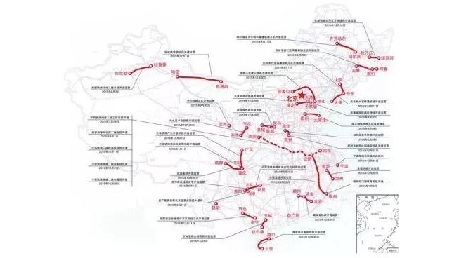 震撼 今昔对比,看中西部铁路数字经济新版图
