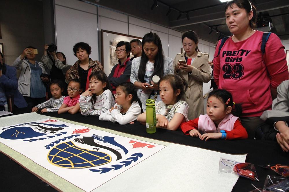 520爱上国学 市南区珠海路街道启动传统文化进社区