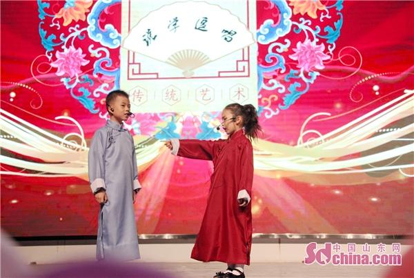 潍坊高新双语学校一学部六一儿童节文艺汇演举行
