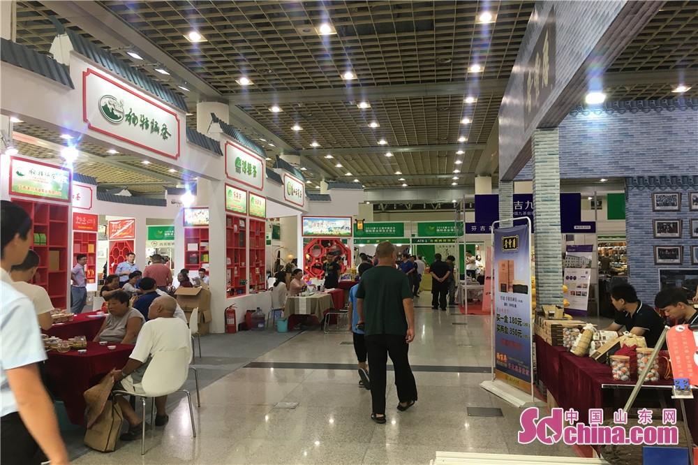 8月17日ー20日、第13回中国北方国際お茶博覧会は済南舜耕国際会展センターで開かれた。