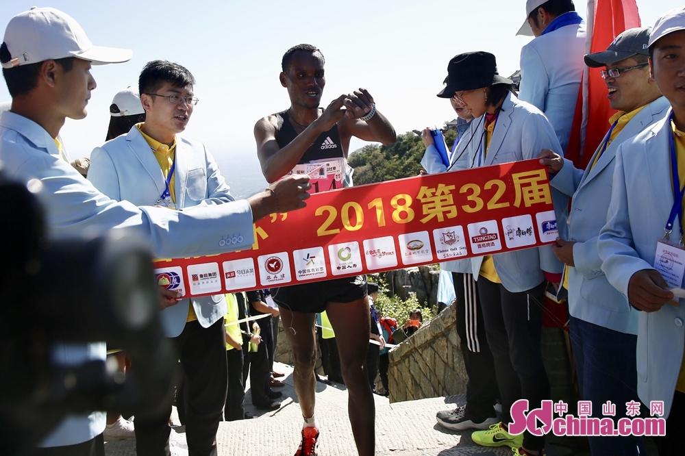 エチオピア出身の選手は金メダルを得た。