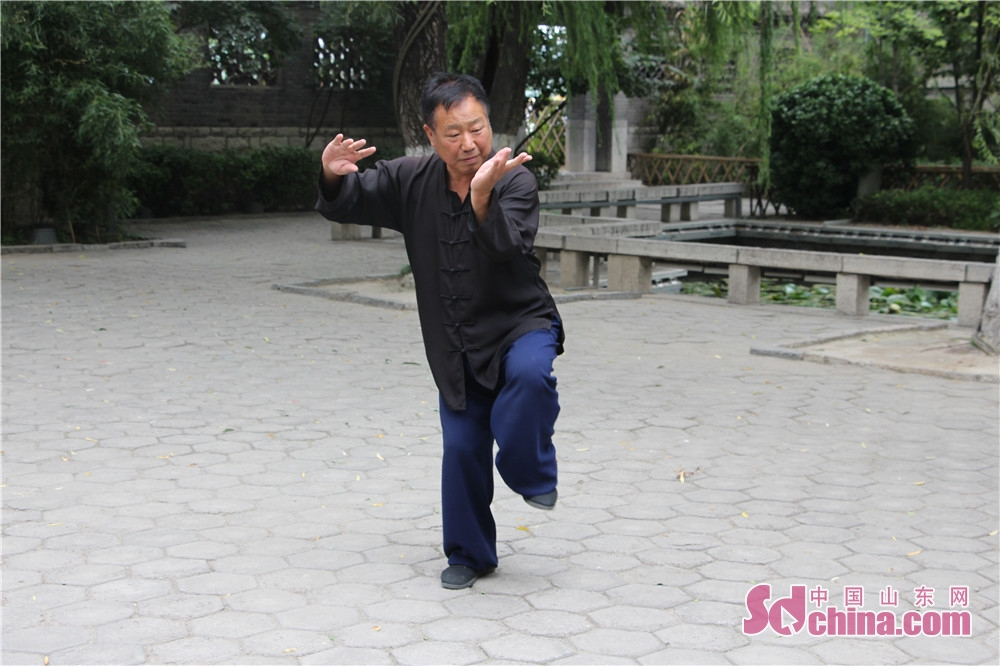 太極拳は国家級無形文化遺産、中国で一番有名な伝統文化である。<br/>