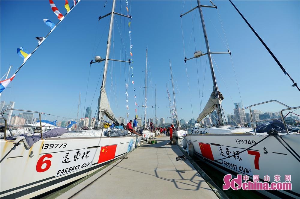 <br/>  2018年9月23日,参加2018&amp;ldquo;远东杯&amp;rdquo;国际帆船拉力赛的五支船队顺利返回青岛奥帆中心母港。<br/>
