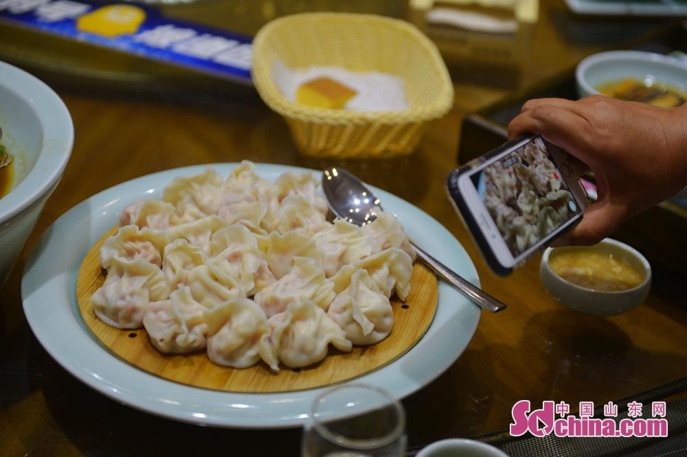 <br/>  扇贝柱水饺。<br/>