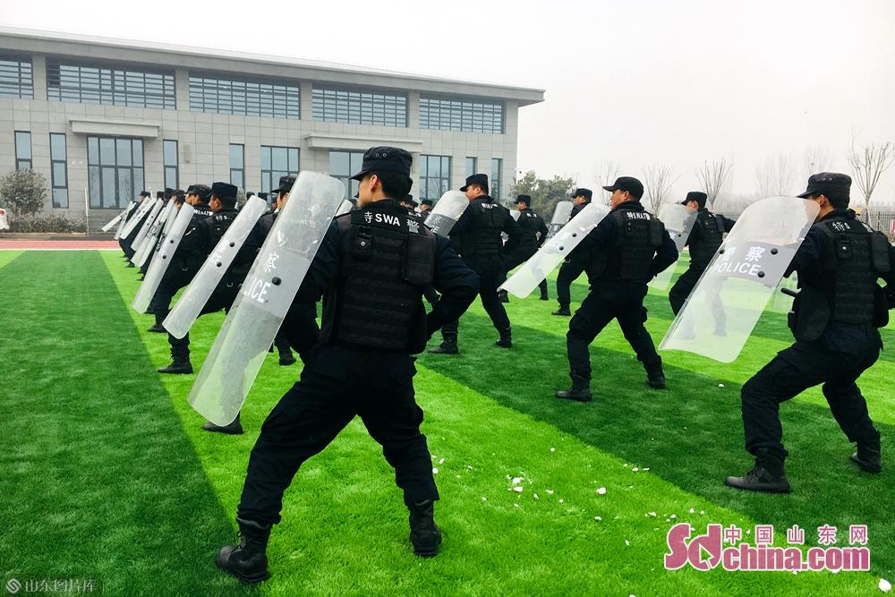<br/>  随后,特警队员们进行了现场展演。他们以娴熟的动作、整齐的队列、默契的配合,向广大市民展示了任城公安分局特警支队昂扬的精神风貌和过硬的警务技能。<br/>