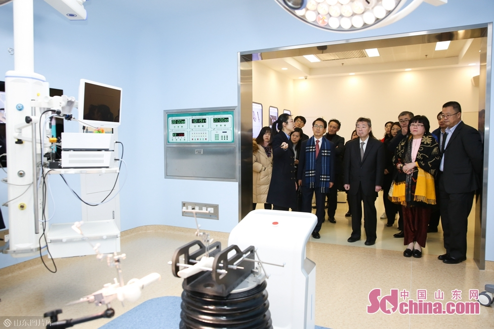 Delegation members visited hemodialysis devices in Wego Group.