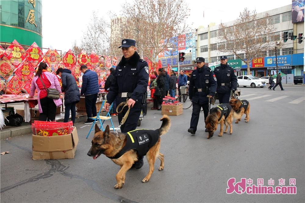 <br/>  无论在景区还是大街小巷,都有民警的身影。