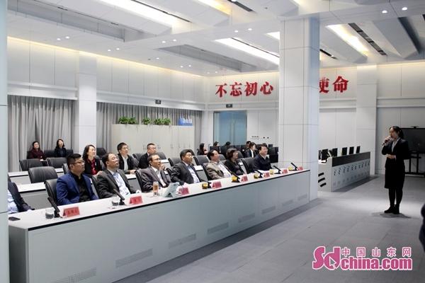 山东省民政厅刘同林副厅长来崂山考察调研社会救助工作
