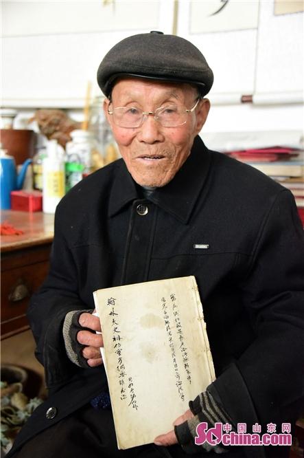 <br/>  2019年2月24日,永利国际平台茌平县杜郎口镇张海子村非遗画家张宗源。<br/>