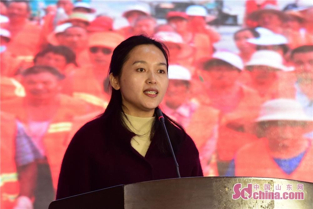 2019年3月6日,茌平县市政管理局宋月云讲述环卫工人的故事。<br/>